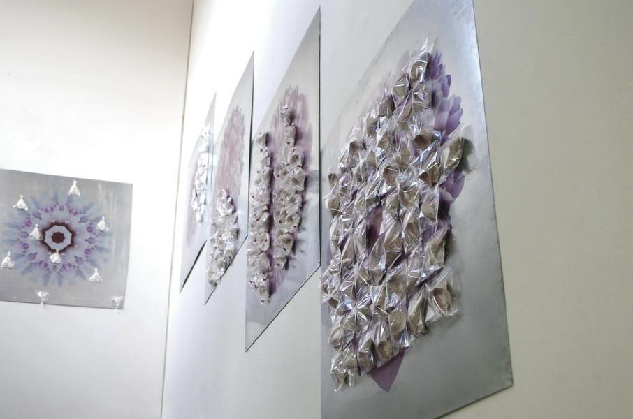 "1. Gallery ""Stairs"" Belgrade, Serbia. Bomboniera is Interactive ceramic installation of ideal world"
