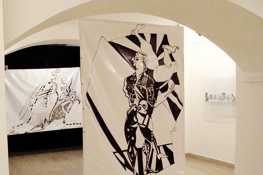1. Poetic of socialisation, Interactive drawing exhibition, Singidunum Gallery, Belgrade, Serbia