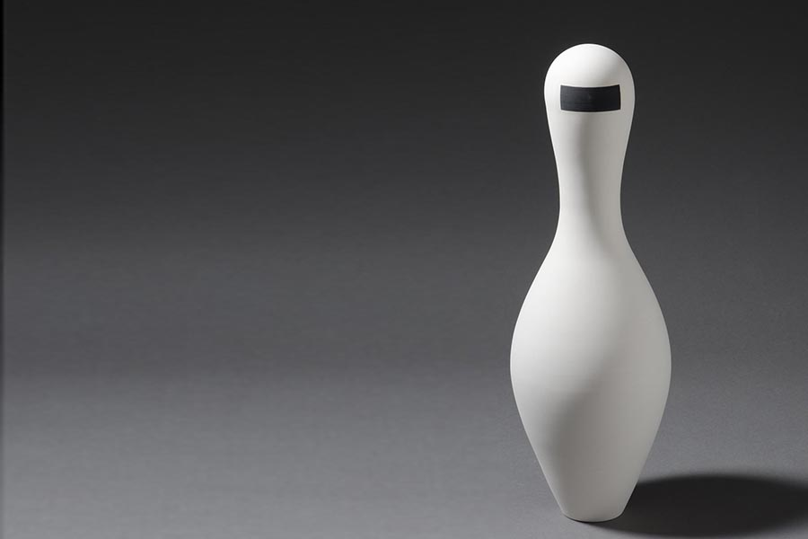 1.Executive. Museum of Applied Arts, Belgrade Porcelain art Installation, Contemporary figurine