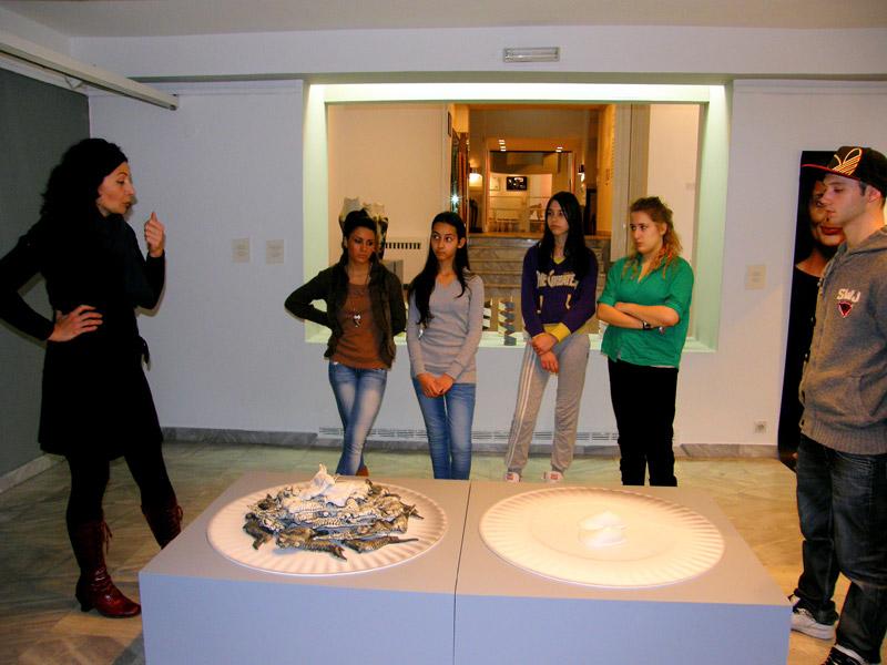 2 Umetnikca, A women artist, exhibition, Museum of applied arts, Belgrade, womens in ceramic art