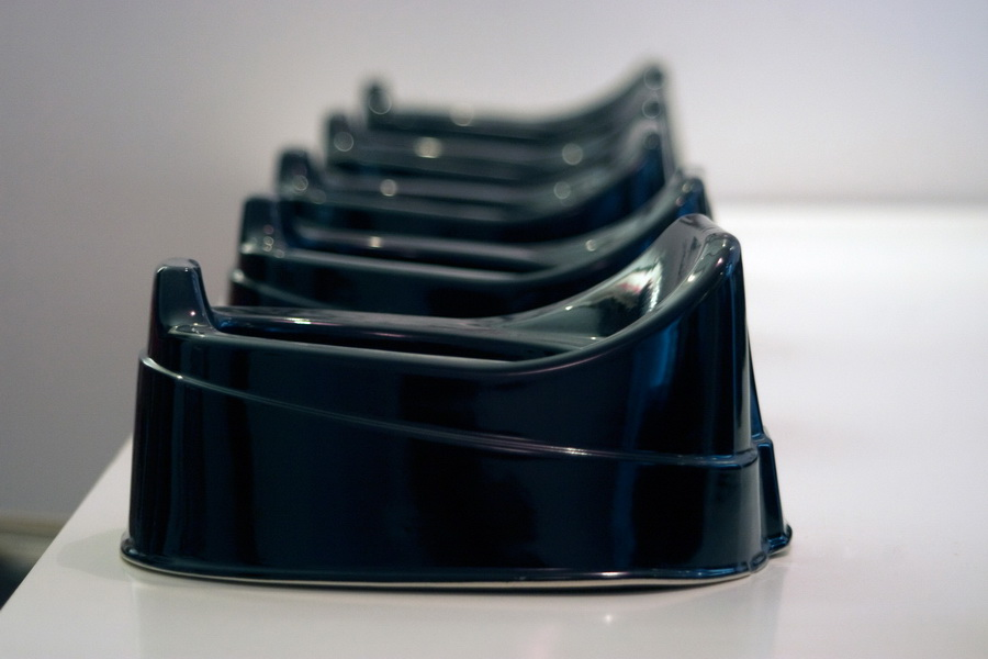 2. Dinner at Bunuel, ceramic installation, purchase award from Museum of Applied Arts