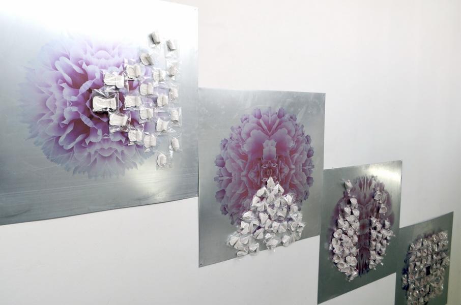 "2. Gallery ""Stairs"" Belgrade, Serbia. Bomboniera is Interactive ceramic installation of ideal world"