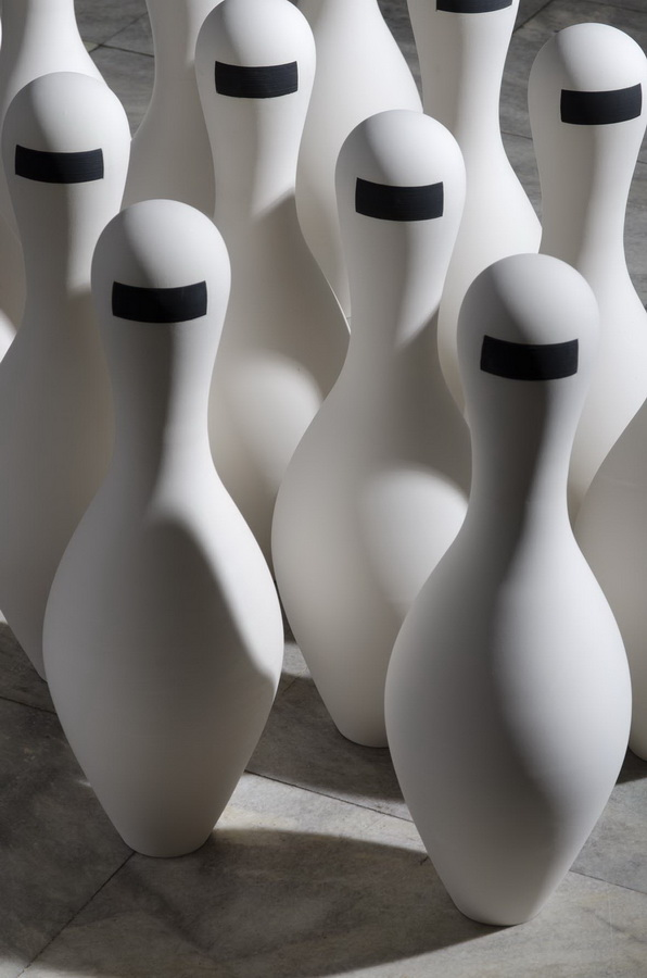 2.1.Executive. Museum of Applied Arts, Belgrade Porcelain art Installation, Contemporary figurine
