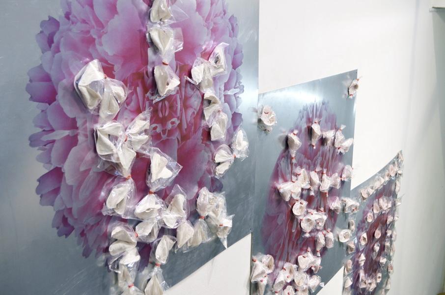 "3. Gallery ""Stairs"" Belgrade, Serbia. Bomboniera is Interactive ceramic installation of ideal world"