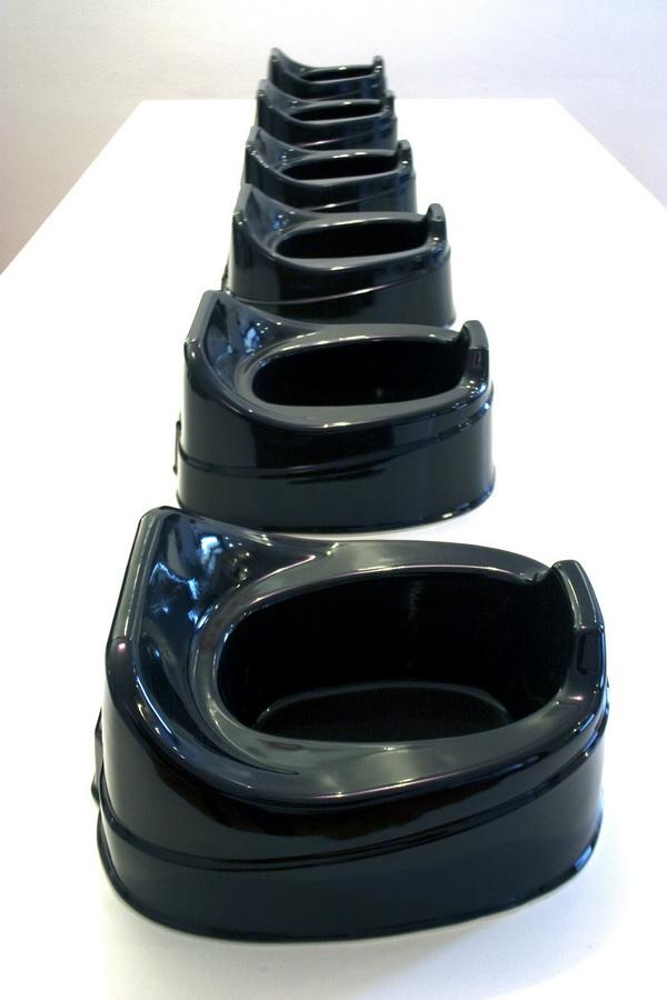 3.Dinner at Bunuel, ceramic installation, purchase award from Museum of Applied Art