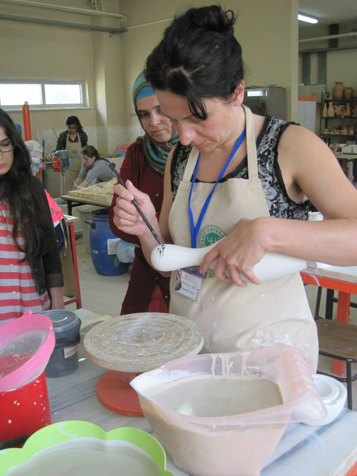 3.Golcuk , Turkey, international ceramic symposium, executives, exhibition,