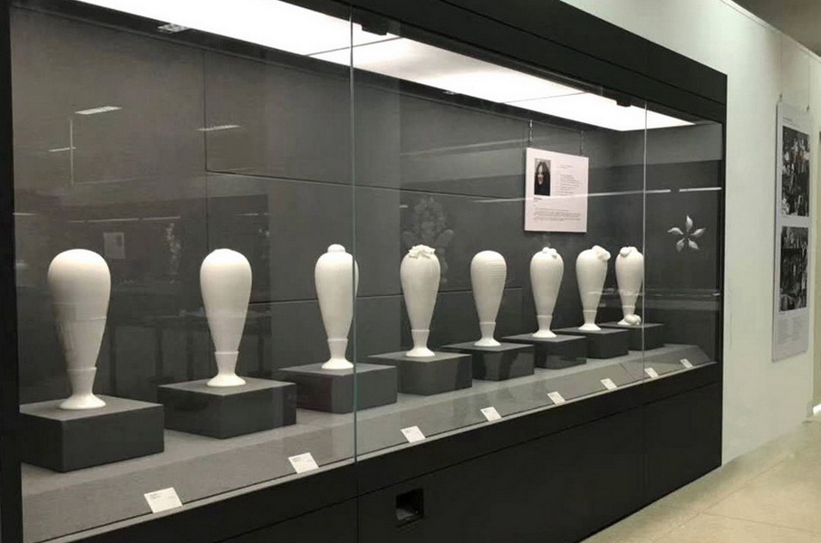 3.Immortals 2018 Series of porcelain art installations made at Dehua Fudong