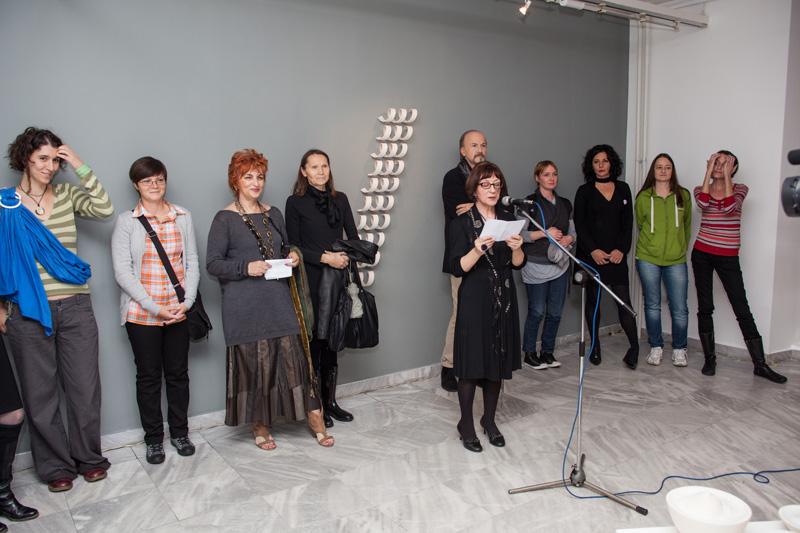4 Umetnikca, A women artist, exhibition, Museum of applied arts, Belgrade, womens in ceramic art