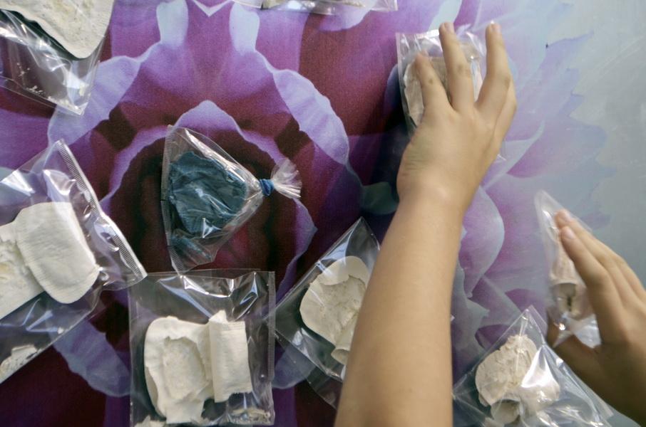 "4. Gallery ""Stairs"" Belgrade, Serbia. Bomboniera is Interactive ceramic installation of ideal world"