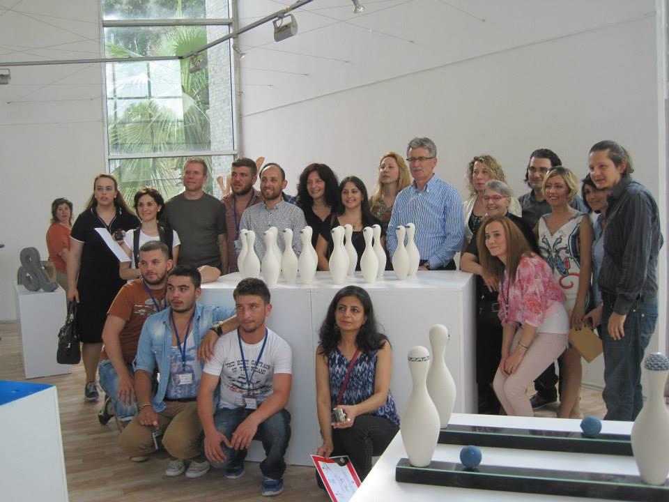 4.Golcuk , Turkey, international ceramic symposium, executives, exhibition,