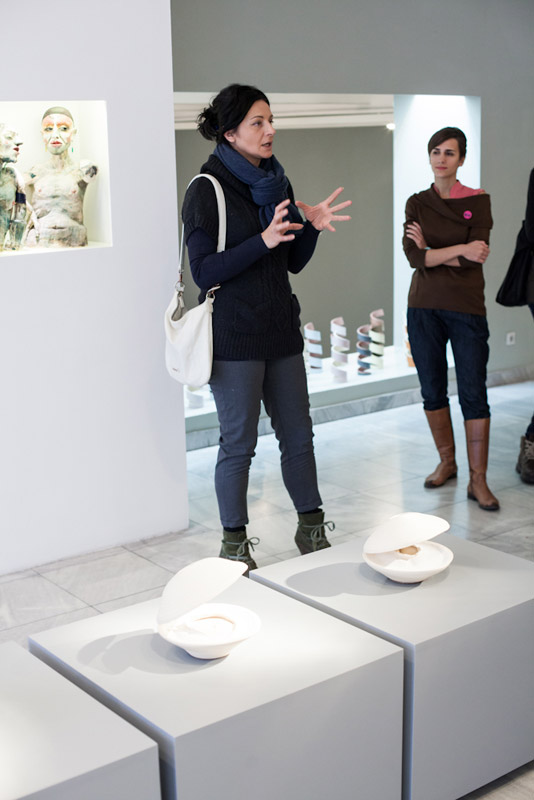 5 Umetnikca, A women artist, exhibition, Museum of applied arts, Belgrade, womens in ceramic art