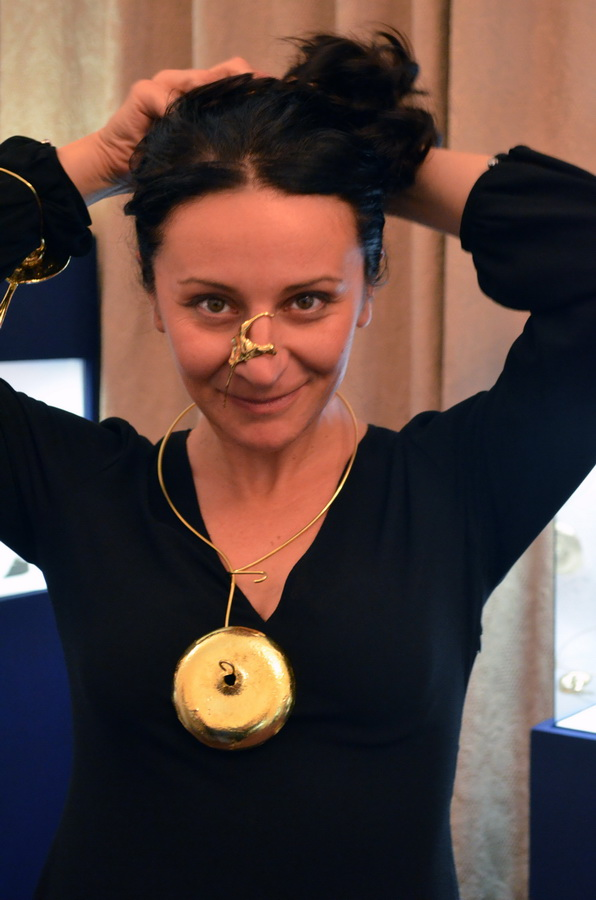 5. Leaking serbia, jewelry collection, made in Residency at closed Majdanpek factory in Serbia.