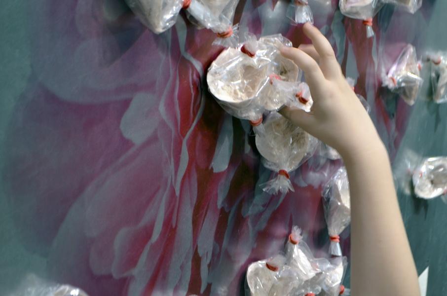 "6. Gallery ""Stairs"" Belgrade, Serbia. Bomboniera is Interactive ceramic installation of ideal world"