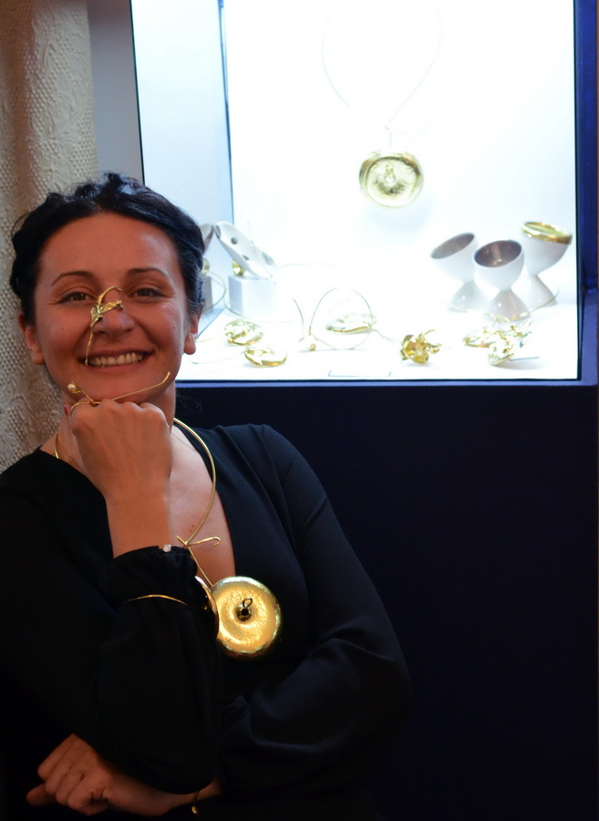 6. Leaking serbia, jewelry collection, made in Residency at closed Majdanpek factory in Serbia.