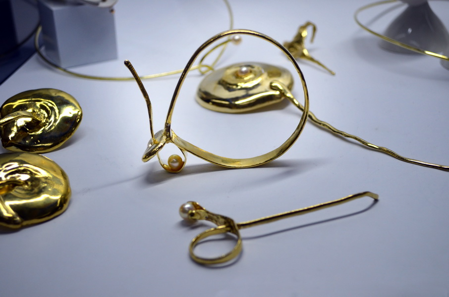 8. Leaking serbia, jewelry collection, made in Residency at closed Majdanpek factory in Serbia.