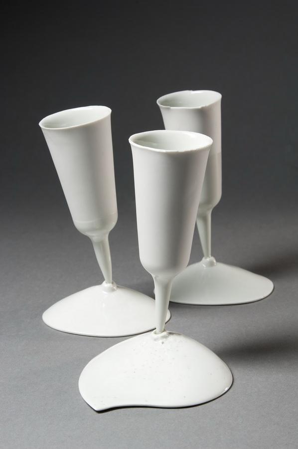 8. Vaccine , Interior Accesoires, 2011 casted porcelain, applied ceramic sculpture, Keramikmuseum Westerwald,