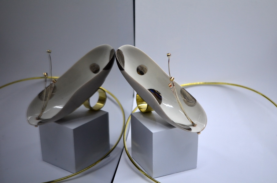 9. Leaking serbia, jewelry collection, made in Residency at closed Majdanpek factory in Serbia.